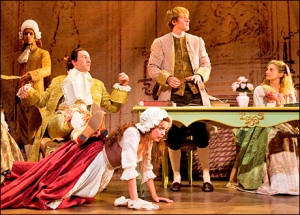 In Mary Zimmerman's Candide at the Goodman Theater