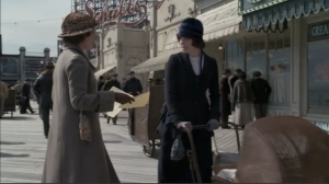 With Kelly MacDonald in HBO's Boardwalk Empire